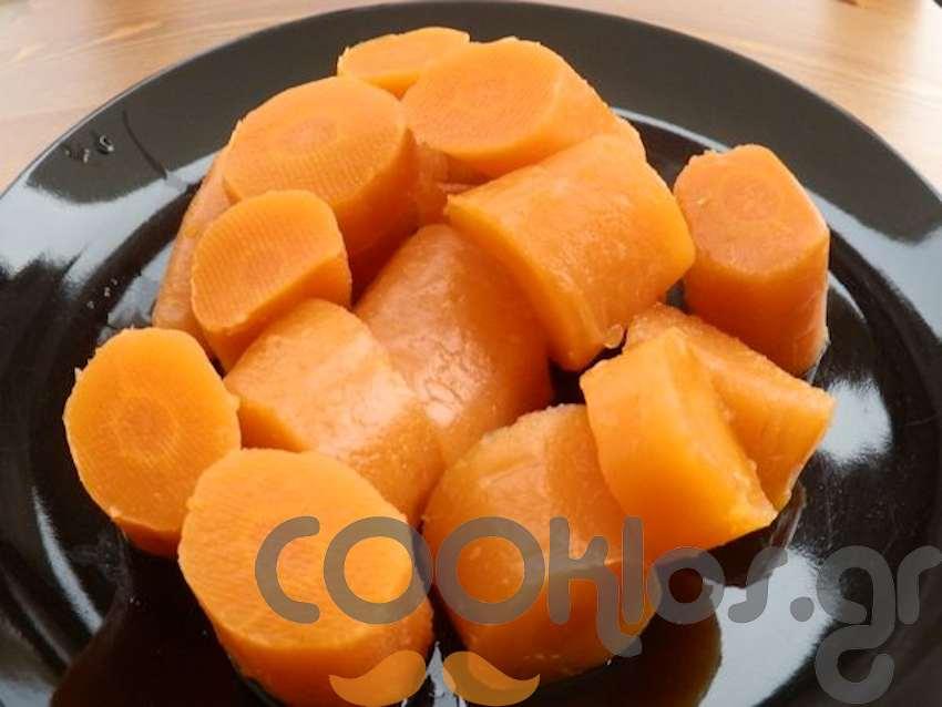 Βραστά καρότα