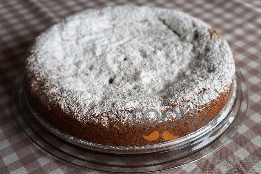 Κέικ με λιναρόσπορο και κράνμπερι