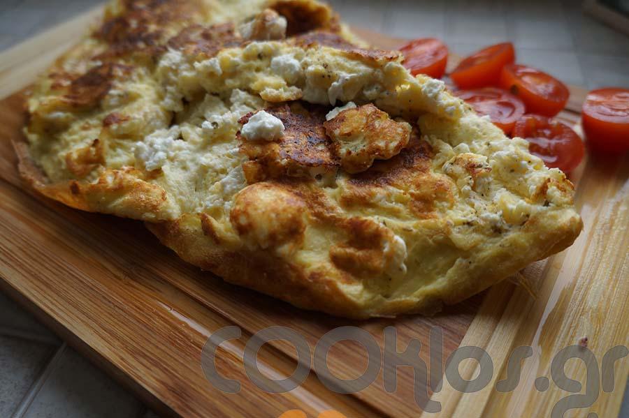 Ομελέτα με τυρί