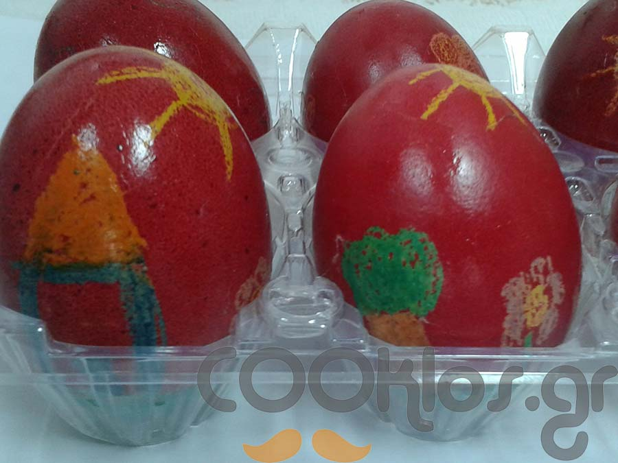 Πασχαλινά ζωγραφιστά αυγά