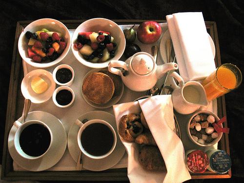 Ανήμερα του Αγίου Βαλεντίνου το πρωινό είναι ιδιαίτερο