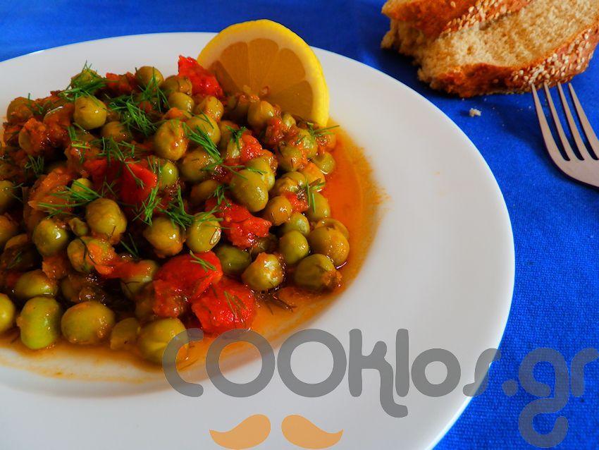Αρακάς λαδερός με λεμόνι