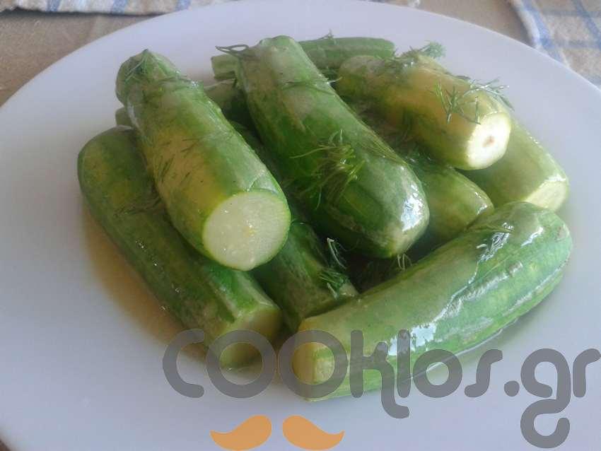 Κολοκυθάκια βραστά σαλάτα