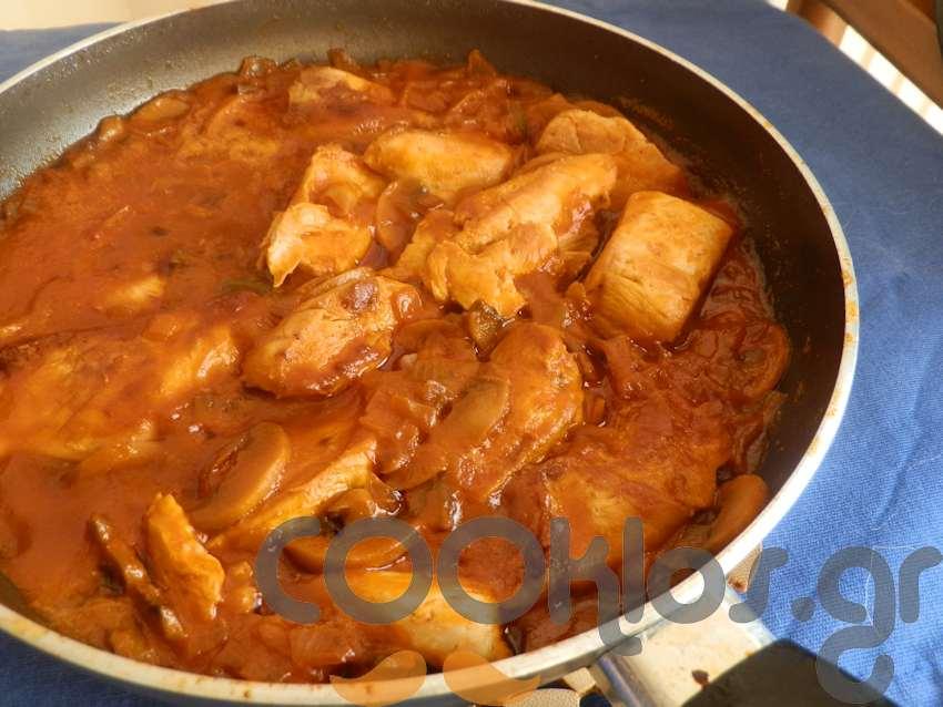 Κοτόπουλο al Italienne
