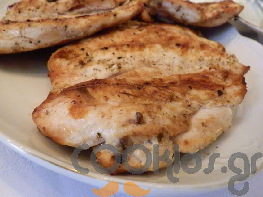 Κοτόπουλο φιλέτο στη σχάρα