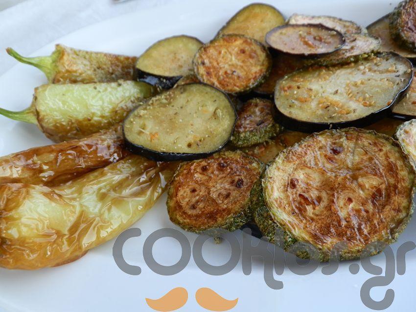 Μιξ τηγανητών λαχανικών