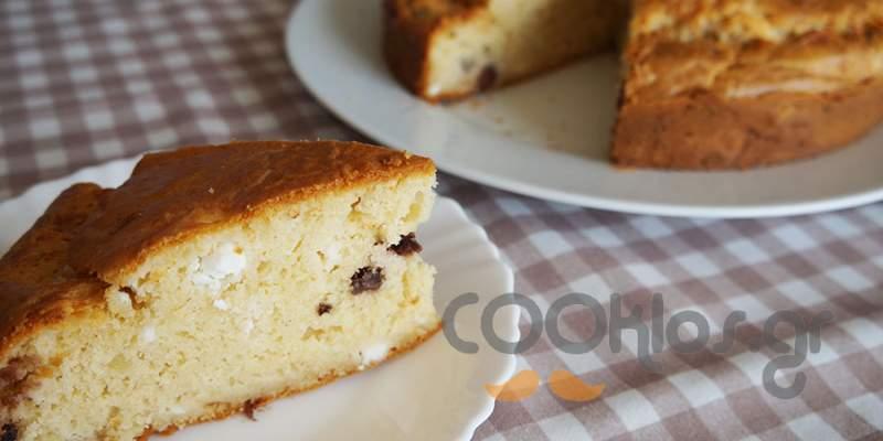 Αλμυρό κέικ με ελιές