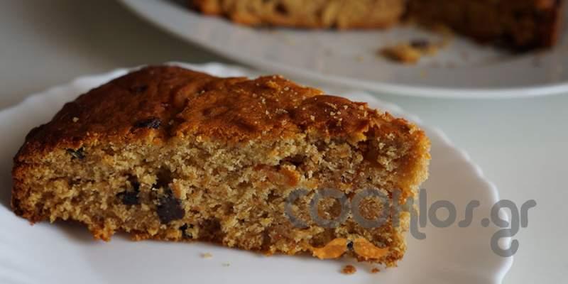 Κέικ καρότου με μέλι