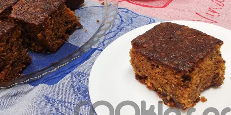 Νηστίσιμο κέικ με σταφίδες