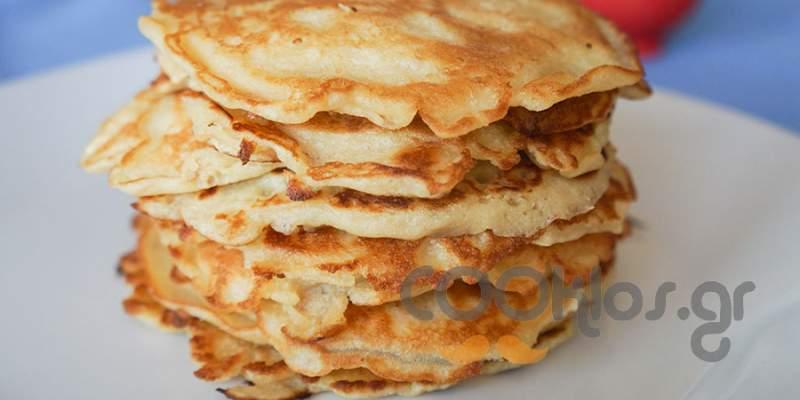 Pancakes βασική συνταγή