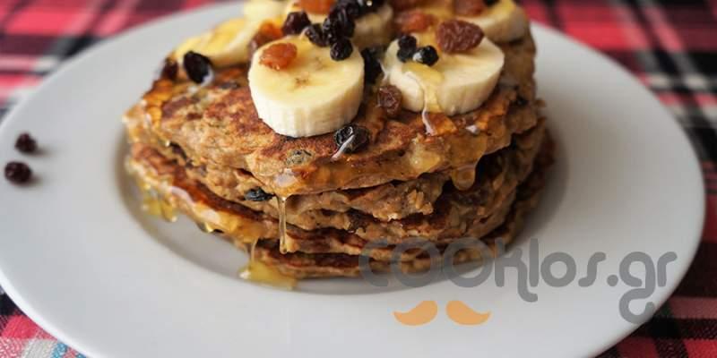 Pancakes χωρίς αλεύρι