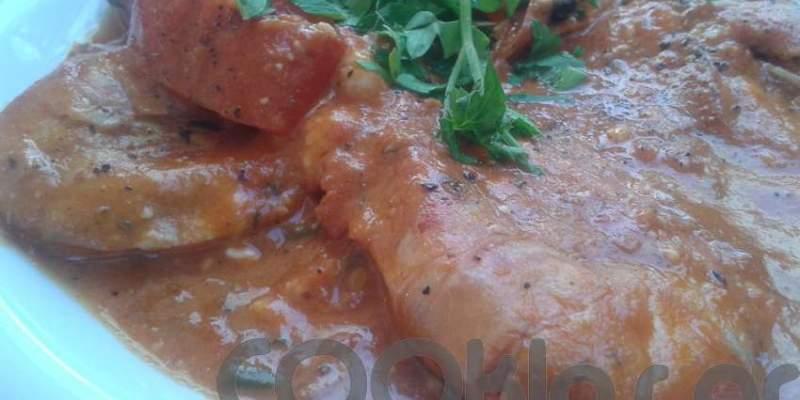 Γαρίδες με πικάντικη σάλτσα