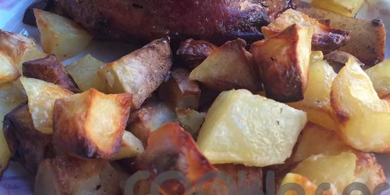Κότσι χοιρινό στο φούρνο