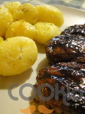 Φιλετάκια μοσχαρίσια με Worcestershire sauce