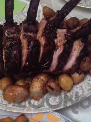 Καρέ χοιρινό στο φούρνο
