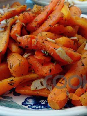 Καρότα με μπέικον