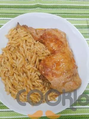 Κοτόπουλο με κριθαράκι