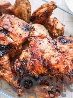 Κοτόπουλο τίκα μασάλα στη σχάρα