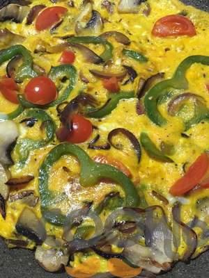 Ομελέτα λαχανικών