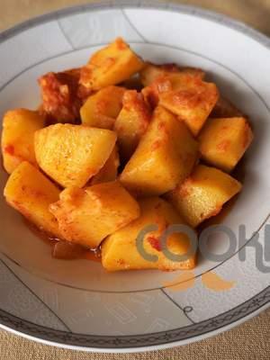 Πατάτες γιαχνί (μπλούμ)