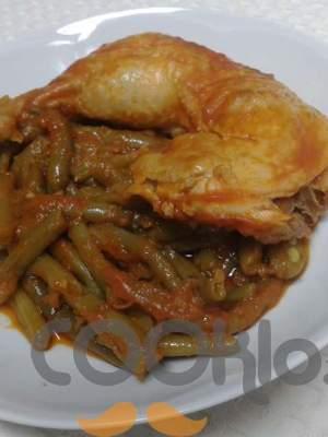 Κοτόπουλο με φασολάκια