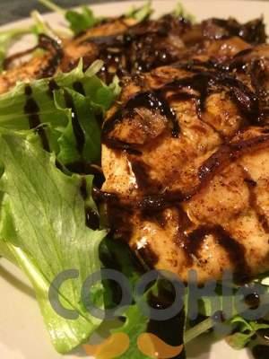 Κοτόπουλο σοτέ με σάλτσα βαλσάμικου
