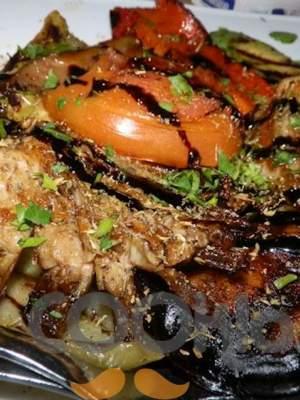 Λαχανικά με σος βαλσάμικου