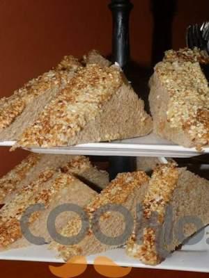 Τοστάκια με καβουρδισμένο σουσάμι