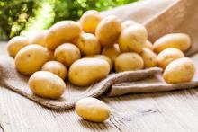 Οι βραστές ή ψητές πατάτες αποτελούν τροφή που δε διαθέτει λίπος