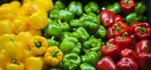 Οι πιπεριές, καλή πηγή των βιταμινών