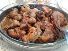 Κοτόπουλο στιφάδο στο ταψί