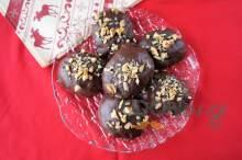 Μελομακάρονα με επικάλυψη σοκολάτας