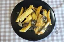 Πατάτες με μανιτάρια