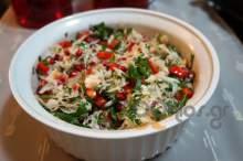 Σαλάτα λάχανο με ρόδι