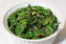 Σαλάτα σπανάκι με ρόδι