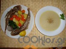 Ψαρόσουπα με καπόνι
