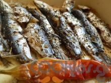 Σαρδέλες με λουίζα και καυτερή πιπεριά