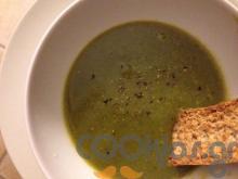 Σούπα βελουτέ με σπανάκι