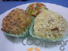 Τρουφάκια ινδοκάρυδο